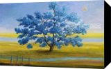 Jacaranda, Paintings, Impressionism, Seascape, Oil, By Alicia Maury