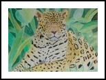 Jaguar, Paintings,Pastel, Fine Art,Realism, Animals,Nature, Painting,Pastel, By Cybele Barbosa