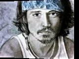 Johnny Depp, Drawings / Sketch, Fine Art, People, Pastel, By Paula D Soesbe