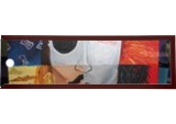 Johnny Depp, Paintings, Abstract, Analytical art, Acrylic, By Alicia Morgan