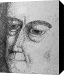 Josiah, Graphic, Modernism, Portrait, Ink, By Eric Kirkpatrick