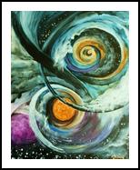 journey, Paintings, Surrealism, Spiritual, Acrylic, By Marta Kuźniar