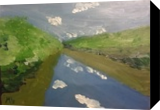 Juniata River 3, Paintings, Impressionism, Landscape, Oil, By MD Meiser