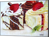 Just Cakes, Paintings, Fine Art, Still Life, Mixed, By Claudia Nkirote Zamberia