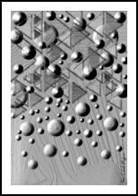 Kaffa, Digital Art / Computer Art,Photography, Abstract, 3-D, Digital, By Sévi Cabell Maghee