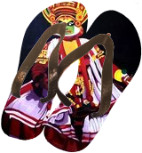 Kathakali Painting on canvas, Drawings / Sketch,Paintings, Abstract,Fine Art, Dance,People,Performance Art, Acrylic,Canvas, By Amal Raj Augustine