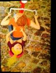 Kids on a Bike, Paintings, Modernism, Narrative, Acrylic, By Eric Kirkpatrick