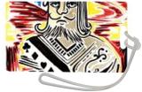 King Of Cards, Paintings, Fine Art, Conceptual, Acrylic, By adam santana