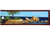 L'arbre de Palombaggia, Paintings, Impressionism, Figurative,Landscape,Nature,Seascape, Acrylic,Canvas, By GORFI GORFI