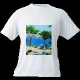 La barque, Paintings, Impressionism, Figurative,Landscape,Nature,Seascape, Acrylic,Canvas, By GORFI GORFI