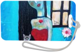 Lady and her Cat, Paintings, Existentialism,Expressionism, Animals,Fantasy,People, Acrylic,Mixed, By James Allan Kennedy