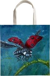 Ladybird. Nikolay Velikiy 2017, Paintings, Realism, Performance Art, Canvas,Oil, By Nikolay Velikiy