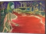 Lake, Paintings, Abstract, Analytical art, Acrylic, By Viszario Gullini