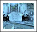 Landmarking, Digital Art / Computer Art, Romanticism,Surrealism,Symbolism, Cityscape,Landscape, Digital, By Bernard Harold Curgenven