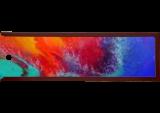 "Landscape, LARGE Painting ""Abstract Sunset"", Paintings, Abstract, Landscape,Nature,Seascape, Acrylic,Canvas, By Irini Karpikioti"