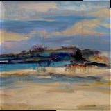 "LARGE Painting ""Seascape"", Paintings, Abstract, Landscape,Nature,Seascape, Acrylic,Canvas, By Irini Karpikioti"