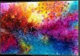 LARGE painting, Paintings, Abstract,Fine Art, Botanical,Fantasy,Landscape,Nature, Acrylic,Canvas,Ink, By Irini Karpikioti