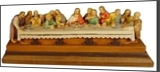 Last Supper, Carvings, Impressionism,Opticality,Romanticism, Historical, Wood, By Beniamino Grossrubatscher