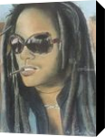 Lenny Kravitz, Drawings / Sketch, Fine Art, Music, Painting, By Paula D Soesbe
