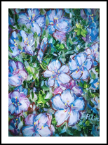 LET LIFE BE BEAUTIFUL LIKE SPRING AZALEA - FRAMED and READY TO HANG, Paintings, Fine Art,Modernism, Botanical,Floral,Nature, Acrylic, By HSIN LIN
