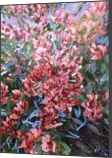LET LIFE BE PASSIONATE LIKE SUMMER BOUGAINVILLEA, Paintings, Abstract,Impressionism,Modernism, Botanical,Floral,Nature, Acrylic, By HSIN LIN