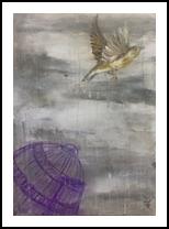 Liberation, Paintings, Fine Art, Fantasy,Spiritual, Acrylic,Canvas, By Anael Sunny