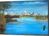Life, Land Art,Paintings, Fine Art,Realism, Inspirational,Landscape, Canvas,Oil,Painting, By Lana karin Fultz