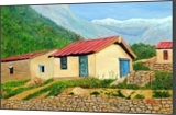 Life on Rocks, Paintings, Expressionism,Photorealism, Landscape, Oil, By Ajay Harit