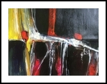 Light Source, Paintings, Expressionism, Avant-Garde, Acrylic,Canvas, By Joseph Culotta