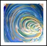 Light at the End, Paintings, Abstract, Tropical, Painting, By fred wilson