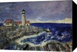 Lighthouse, Paintings, Impressionism, Seascape, Painting, By Jim Richard Relyea
