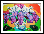 LILAC, Paintings, Realism, Floral, Mixed, By Zenon Wladyslaw Rozycki