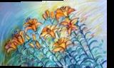 lilium2, Pastel, Realism, Botanical,Floral, Pastel, By Maria Hristova Koleva