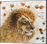 Lion, Paintings, Realism, Animals, Watercolor, By Ira Olegovna Samoilina