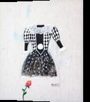 Little dress, Paintings, Surrealism, Fantasy, Oil, By Natasa Menart