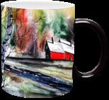 Living Alone, Paintings, Fine Art, Landscape, Watercolor, By james Allen lagasse