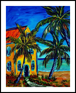 Living in Paradise, Paintings, Impressionism, Landscape, Painting, By Glenn Lathi