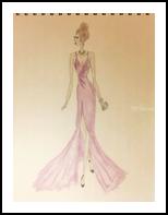 LK Fashion, Drawings / Sketch, Performance Art, Daily Life,Performance Art,Weddings, Mixed,Pencil, By Liam Banzon Ramos
