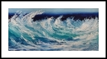 LOCO MOTION, Paintings, Realism, Seascape, Oil, By fred wilson