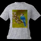 Lonely bird, Paintings, Fine Art, Animals,Landscape, Canvas,Oil,Painting, By Sulita Xieernayi Kosteyn