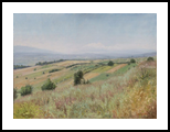 Long Valley, Paintings, Fine Art,Realism, Landscape,Nature, Oil,Wood, By Dejan Trajkovic