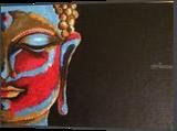 Lord budhha, Paintings, Abstract,Fine Art, Landscape, Acrylic,Canvas, By Malika Rohit Patel