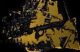 Lost boat in gold, Digital Art / Computer Art, Symbolism, Fantasy, Digital, By Bernard Harold Curgenven