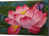 Lotus, Paintings, Abstract, Floral, Acrylic, By melanie ann lutes
