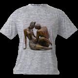 Love, Sculpture, Modernism, Figurative, Bronze, By ZAKIR AHMEDOV