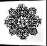 Love Blossoms, Drawings / Sketch, Symbolism, Decorative, Ink,Pencil, By Veronika Dika