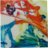 Love Those Colors, Paintings, Abstract, Botanical,Floral, Acrylic, By Lisa Annette Bowersock