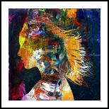 Lovelorn, Paintings, Fine Art, Portrait, Canvas, By Bashir Abduljaber Ali Hajji