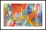 Lyric Red, Paintings, Abstract, Conceptual, Oil, By Sal Panasci