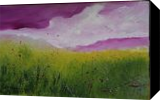 Magic Clouds, Paintings, Abstract, Landscape, Oil, By Alicia Maury Fine Art